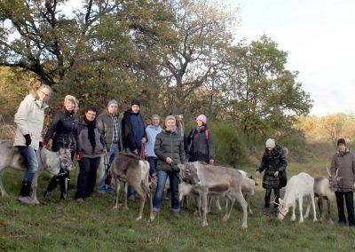 Teamevent mit den Niederhausener Rentieren