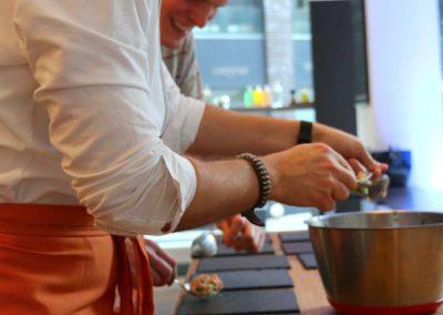 Kochevent in Hamburg